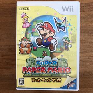 スーパーペーパーマリオ Wii