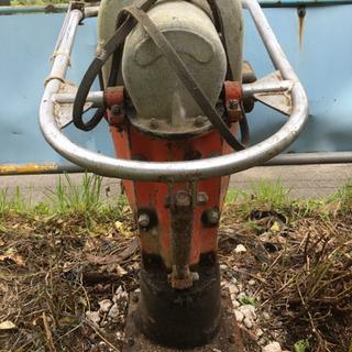 ランマ 転圧機 タンパ プレート ジャンク