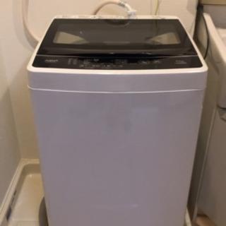 値下げします!新品!2020年製品Aqua全自動洗濯機5k