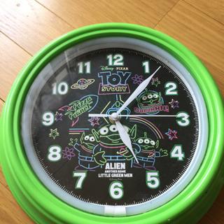 トイストーリー エイリアン 壁掛け時計 ジャンク
