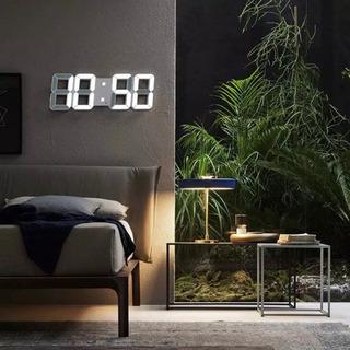 ③ デジタル時計 LED 置き時計 掛け時計 新品