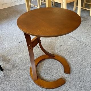 中古 オーク材 サイドテーブル
