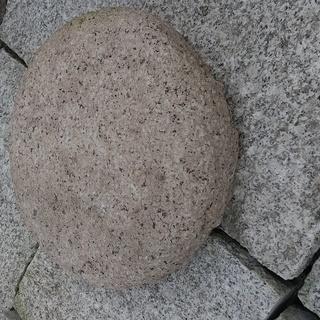 天然の御影石 庭石、飛石(桜色) 訳ありのため激安