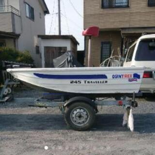 アルミボート  免許不要 値下げしますよ