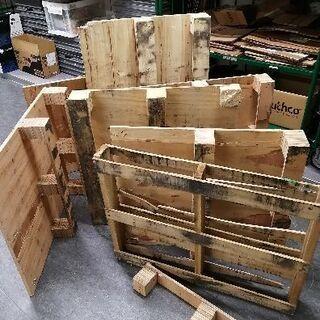 破損木製パレット&廃材(輸入物 )