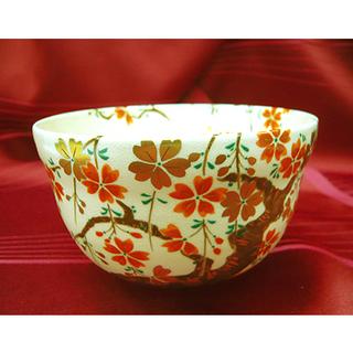 札幌【茶器④】桜木 さくら サクラ 生成り 直径12cm 茶碗 ...