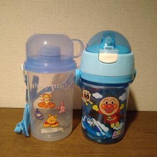 新品 アンパンマンストローマグ&プーさんの水筒