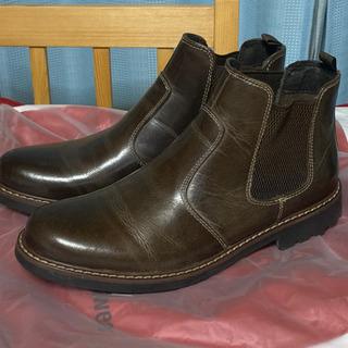 紳士靴CEDAR CREST 本革 サイドゴアブーツ 25.5cm