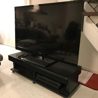 東芝 REGZA 55インチ 専用テレビ台 HDD1000GBデッキ