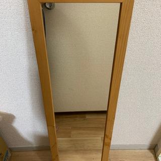 姿見鏡 ミラー 木製フレーム