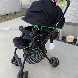 【美品】アップリカ ラクーナ フライル ベビーカー