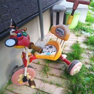 ミッキー三輪車 - 瀬戸市
