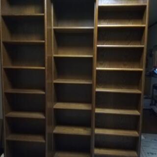 【お話し中】大型の本棚(スライド式)