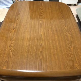 【無料】ニトリ こたつテーブル こたつ布団付き - 市川市