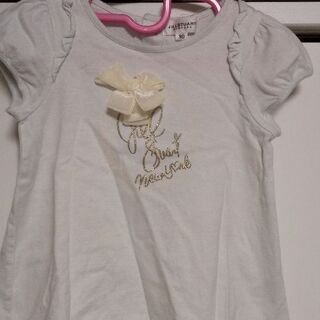 ジルスチュアート リボン Tシャツ カットソー 水色