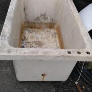 新古品 INAX 風呂桶 浴槽 メダカや金魚に