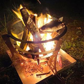 オリジナル焚き火台(osoto雑貨)