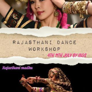 インドのラジャスタニダンスワークショップ7月限定!