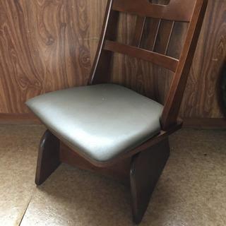 回転座椅子、中古品、4脚、一部座面の角破れあります。