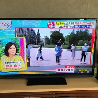 シャープAQUOS 60型液晶テレビ