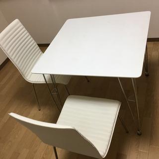 【7月7日以降取りに来られる方】ニトリ ダイニングテーブル 椅子セット