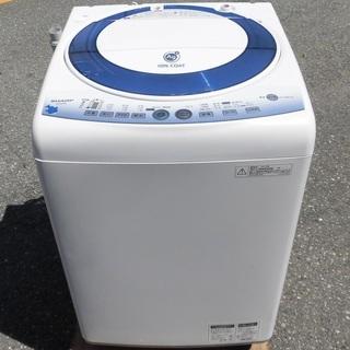 JMS0059)SHARP/シャープ 全自動洗濯機 ES-…