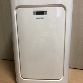 トヨトミ スポット冷暖エアコン TAD-22HW 冷暖兼用…
