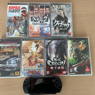 PSP本体 ソフトセット