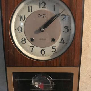 昭和の壁掛け時計