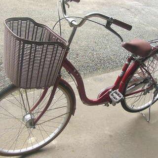 26インチ ハンドルステンレス製 自転車