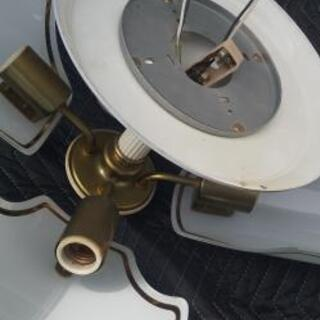 電気の傘 シャンデリア 2台セット - 家電