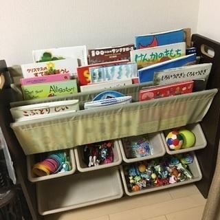 本棚 おもちゃ箱