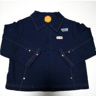 子供服 女の子 90サイズ ジャケット ジャンパー 紺色