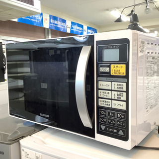 安心の6ヶ月保証付!! アイリスオオヤマ2017年製 オーブンレ...