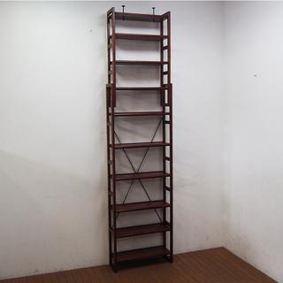 壁面本棚 2本セット価格 幅60cm 奥行20cm 高さ244c...