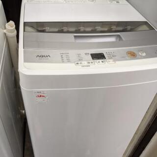 全自動洗濯機 アクア AQUA AQW-S45E 2017年製 ...
