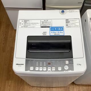 「安心の6ヶ月保証付!!【Hisense(ハイセンス)全自動洗濯...