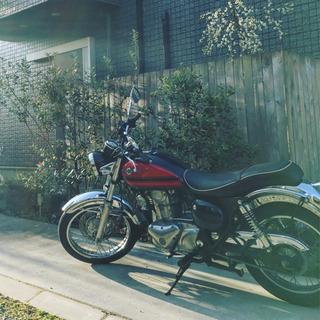 エストレヤRS 2001年 250cc カワサキ 赤黒 自賠付き...