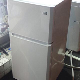 札幌 ハイアール 106L 冷蔵庫 JR-N106K 2016年...