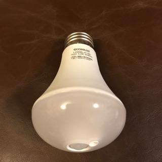人感センサー付き電球