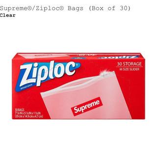 1箱 supreme シュプリーム ジップロック