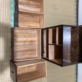 レトロ鏡台 ドレッサー 昭和 アンティーク - 家具