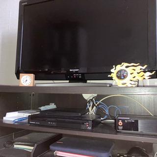 ダークブラウンのテレビ台