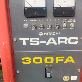 HITACHI 日立 TS-ARC 300FA 半自動溶接機 送...