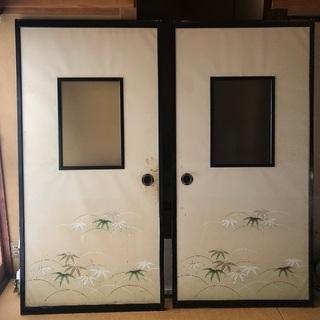 和室の襖絵