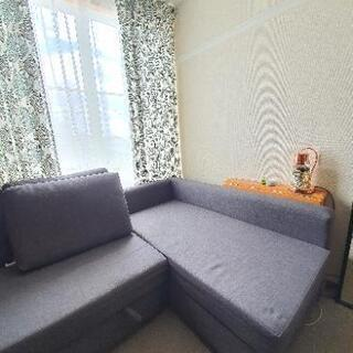 IKEA FRIHETEN フリーヘーテンコーナーソファベッド ...