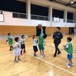 天王寺スポーツセンター子どもバスケットボール教室