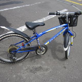 子ども用自転車 20インチ 切替付き 鍵付き 青/ブルー 子供用...