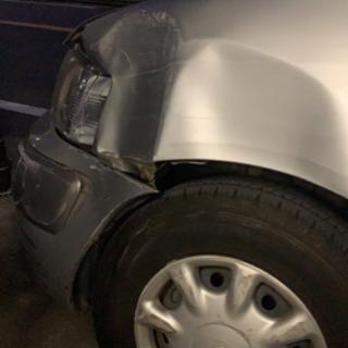 事故車両修理 鈑金塗装 中古部品を使っての修理