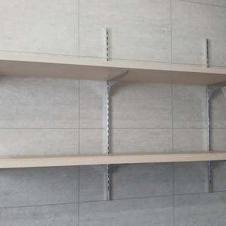 棚板、棚受け 余った板材でDIYも!